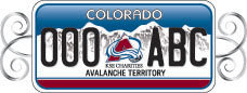 Avs License Plate
