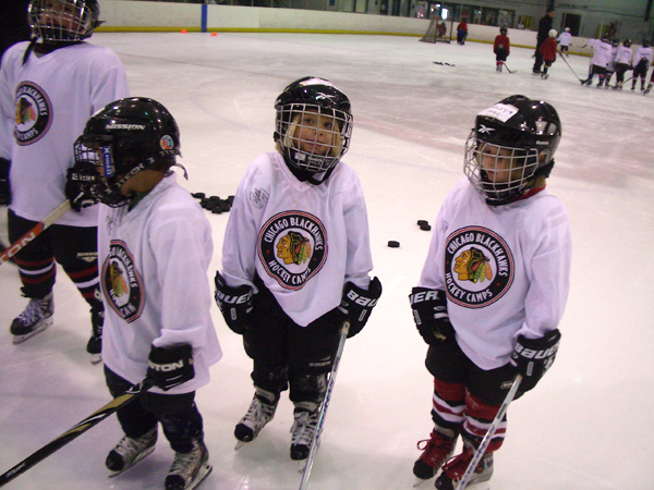 ... and raising the platform for amateur hockey players in the Midwest.