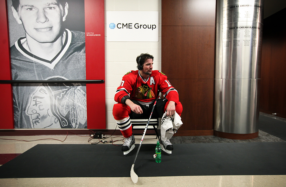 patrick sharp in basement
