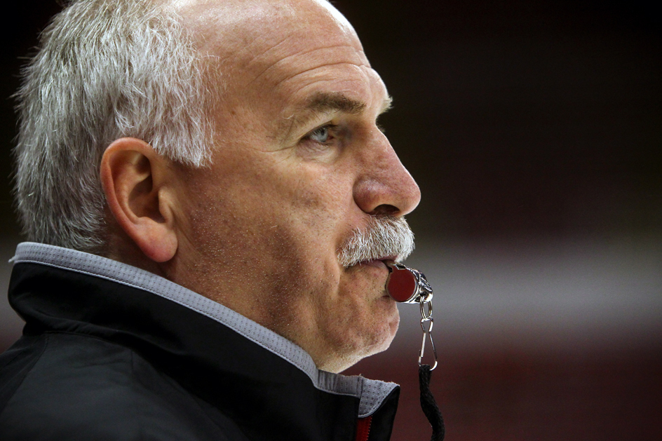 quenneville with whistle