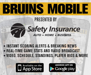 Bruins Mobile presented by Safety Insurance