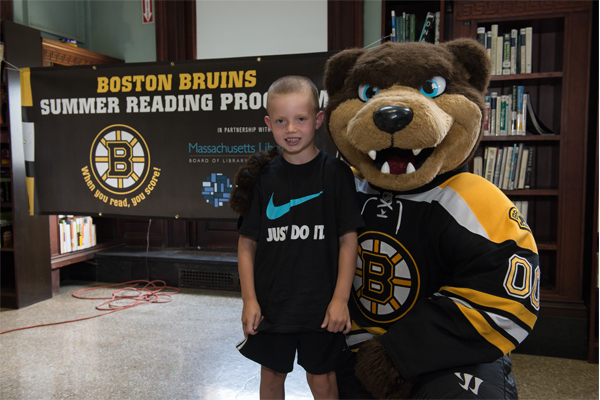 App 600x400 Template Mobile Bruins To Host 19 When You Read, You Score! Summer Reading Events Presented By Velcro; Kick Off Event At Dorchester Library With Jimmy Hayes 6/27