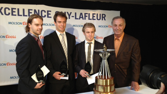 The Montreal Canadiens and Molson/Coors announce the Guy Lafleur Awards of Excellence and Merit for 2012-13