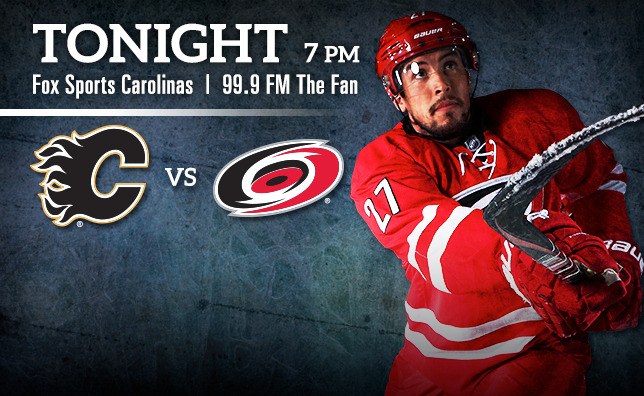 Flames vs. Hurricanes