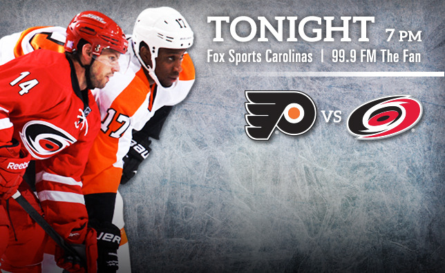 Flyers vs. Hurricanes