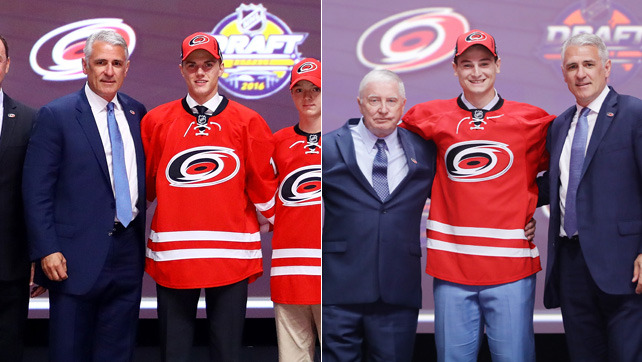 Hurricanes Wrap Up First Day of 2016 NHL Draft