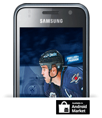 Winnipeg Jets Mobile App available at Android Market