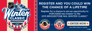 Winter Classic sweepstakes
