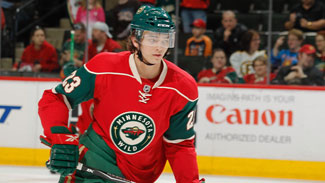 Wild sign forward Almond to one-year contract