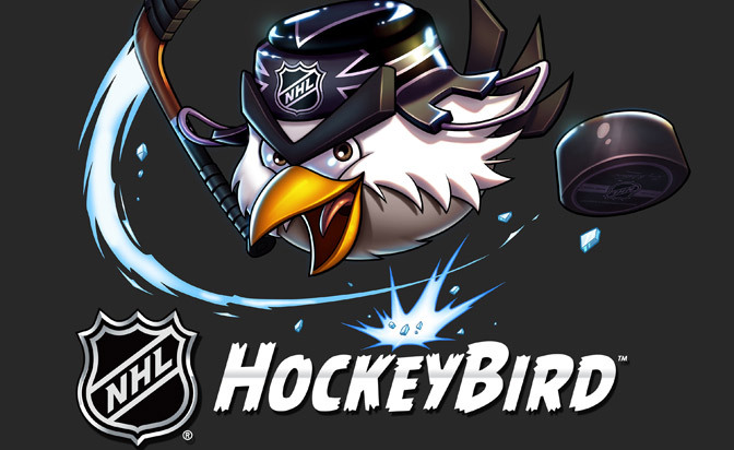 NHL, Rovio Entertainment to launch 'Hockeybird'