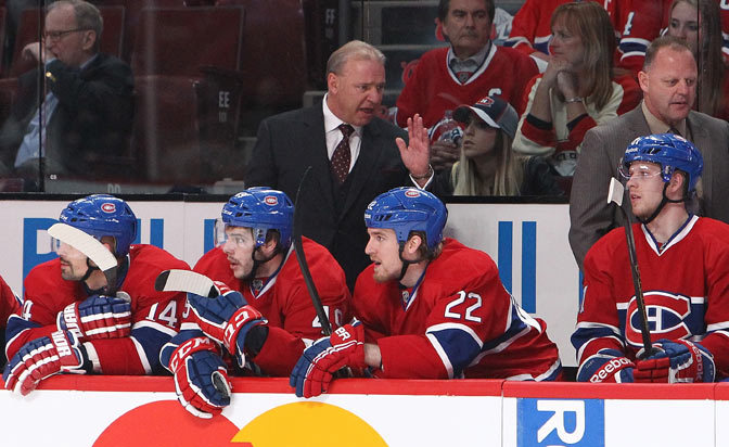 Canadiens sign coach Therrien to contract extension