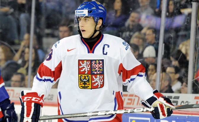 Red Wings sign Czech Republic forward Nosek