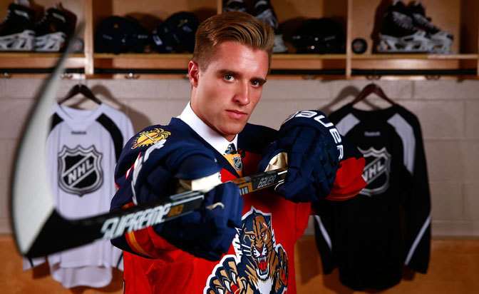No. 1 pick Ekblad signs, believes he'll make Panthers