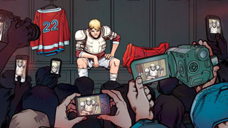 Howard Shapiro's graphic novel 'The Hockey Saint'