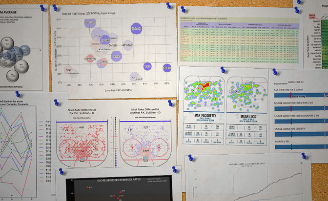 New analytics have led to a better understanding of how hockey is played.