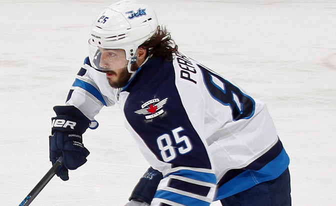 Jets forward Perreault out Tuesday against Coyotes