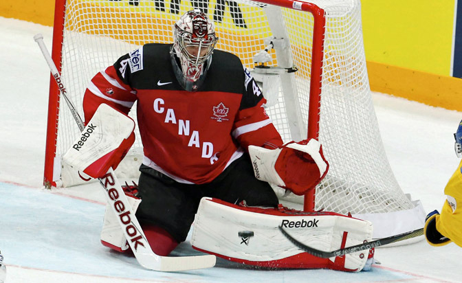 Coyotes goalie Smith will build off Canada gold