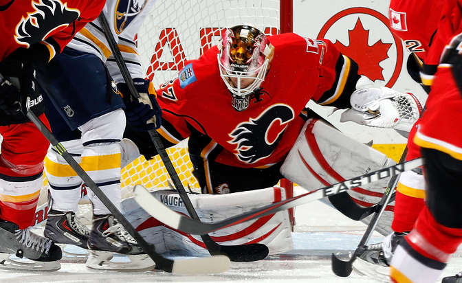 Ortio signs two-year contract with Flames