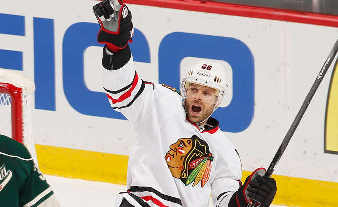 Blackhawks to part ways with Handzus: report