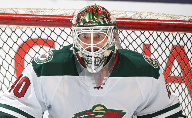 Wild sign goaltender Dubnyk to six-year contract