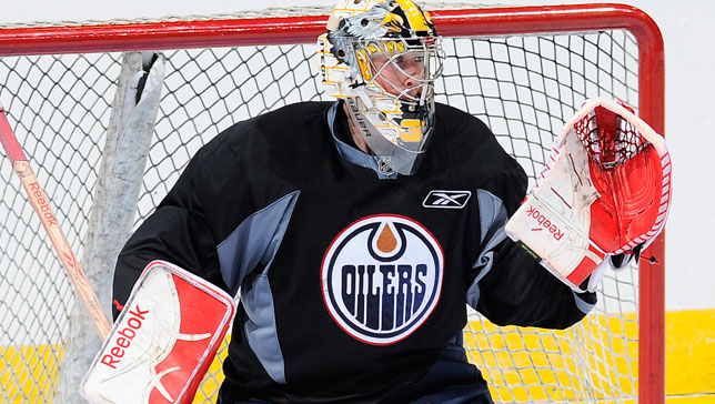 Olivier Roy - Photo Courtesy of oilers.nhl.com