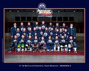 11-12 Battle and Compete team Messier