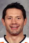 #45 - Jody Shelley of the Philadelphia Flyers