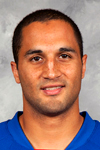 #-- - Andre Deveaux of the New York Rangers