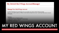 My Red Wings Account